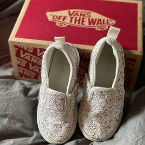 Toddler Vans Glitter Asher Shoe